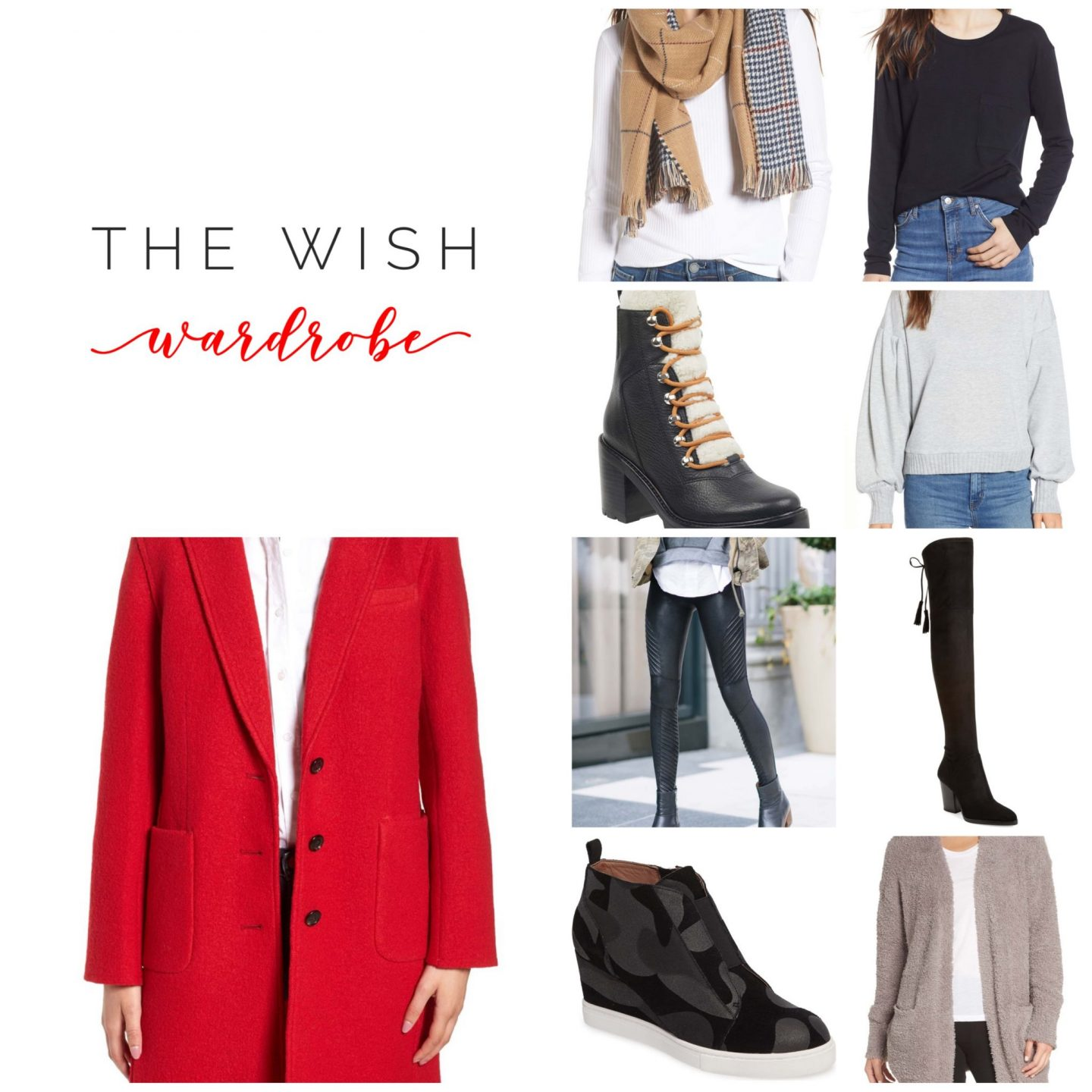 THE WARDROBE WISHLIST