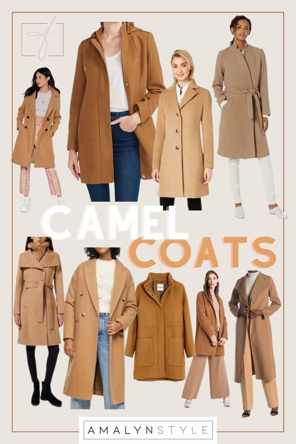 CAMEL COATS FOR YOUR WINTER WARDROBE